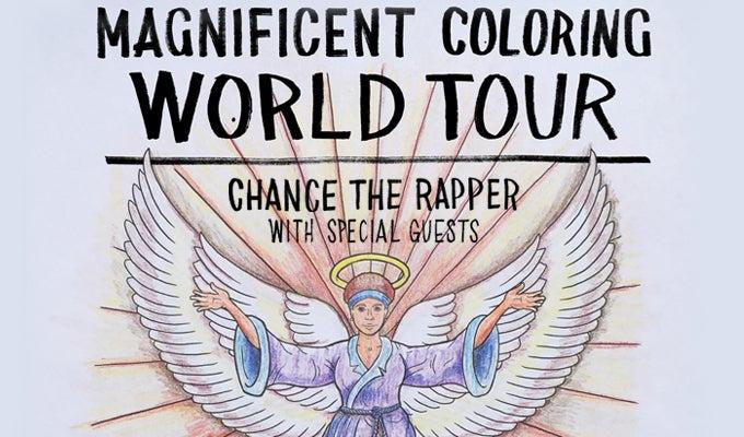 Chance The Rapper: Magnificent Coloring World Tour