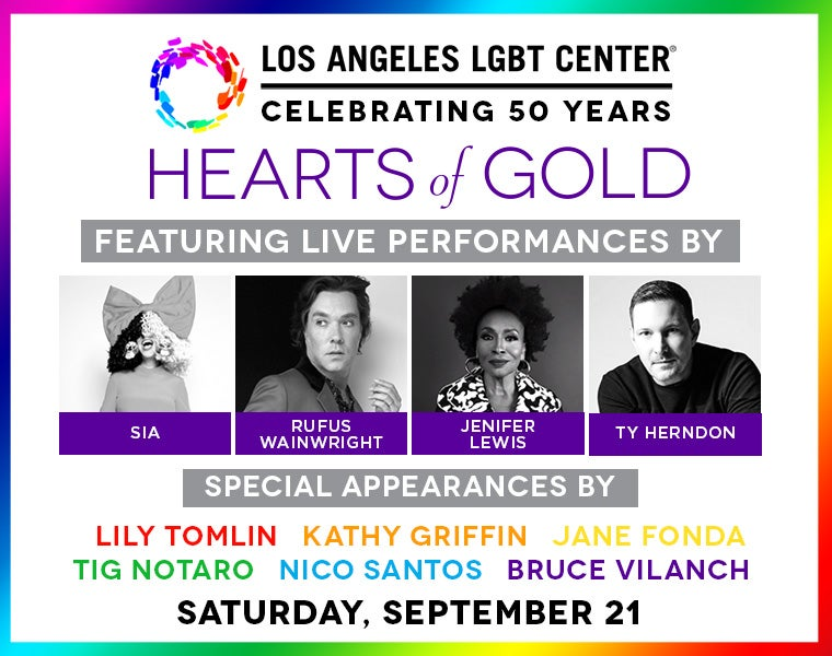 More Info for 50th Anniversary of the Los Angeles LGBT Center